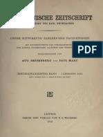 Byzantinische Zeitschrift Jahrgang 21 (1912)