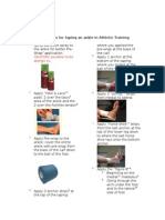 instructions for taping an ankle in athletic training (1)