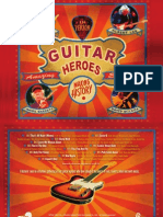 James Burton, Albert Lee, Amos Garrett, David Wilcox - Guitar Heroes [CD/LP Liner Notes]