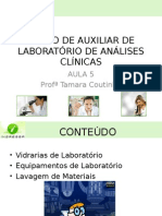 125314577 Aula 5 Curso de Auxiliar de Laboratorio de Analises Clinicas