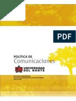 Manual Politicas Comunicaciones- UNINORTE