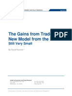 The Gains from Trade in a New Model from the IMF