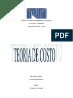 analisi critico -teoria de costo