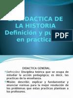 FINAL DE DIDÁCTICA GENERAL Y ESPECIAL