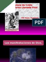 Las Manifestaciones de Dios