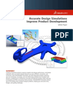 (Simulation) Accurate Design Simulations Improve Product Development