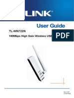 TL-WN722N User Guide