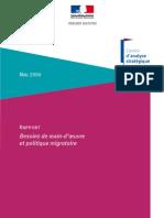 Main d'Oeuvre Et Politique Migratoire 2006