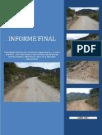Informe Geológico 28 km de mejoramiento de carretera
