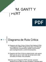 Cpm, Gantt y Pert