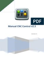 Manual CNC Control v2.3