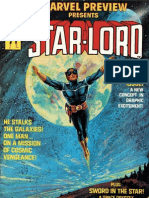 Marvel Preview Presents 4 Star Lord