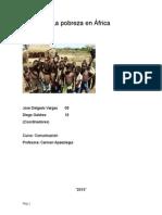 La Pobreza en África
