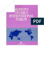 Women's Studies International Forum 46 (2014)