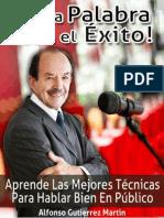 ConLaPalabra Hacia El Exito AlfonsoGutierrez