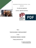 Edificaciones e Instalaciones
