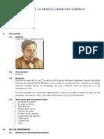 Analisis El Caballero Carmelo