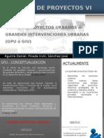 Grandes Proyectos Urbanos