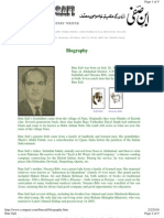 Biography of IBN E SAFI