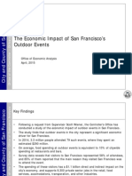 The Economic Impact of Outdoor Events