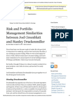 Risk and Portfolio Management Similarities Between Joel Greenblatt and Stanley Druckenmiller _ Base Hit Investing