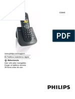 Manual Telefono Cd645