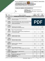 Avance Programático Optativa 1. Abril - Sep 2015