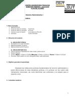 Formato Plan Del Alumno Escolarizado 2015 Cuarto Semestre