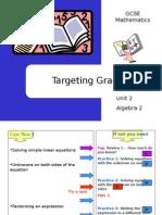 Algebra 2 - Solving & Factorising Linear Expressions