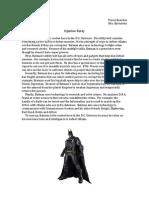 Batman Opinion Essay