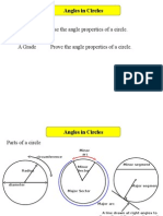 Angles in Circles h 1