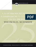 25 Homosexualidad - Thomas E. Schmidt