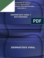 Dermatosis Viral y Bacteriana