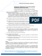 Requisitos Ministros de Culto Guatemala