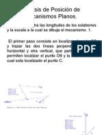 Análisis de Posición de Mecanismos Planos