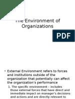 MGT 201 - 3 - The Environment of Organizations (2)