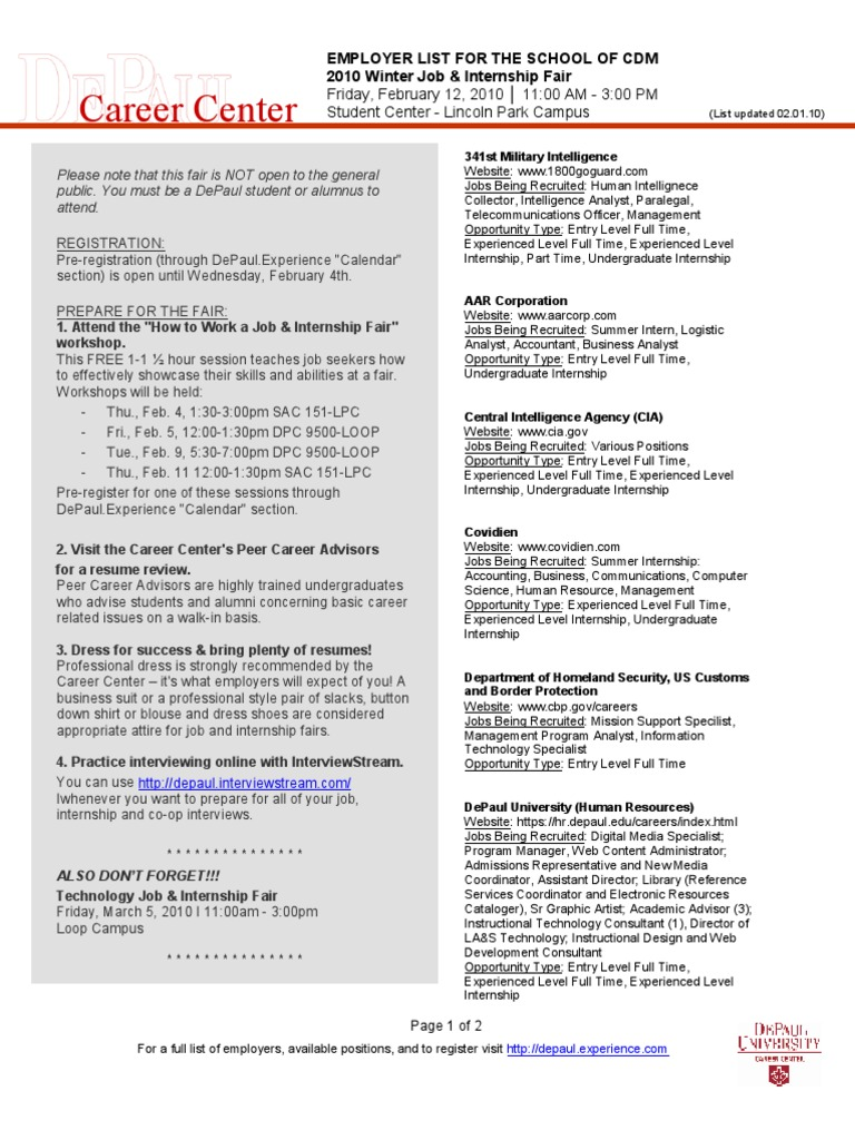 Magnificent Unt Career Center Resume Review Contemporary - Entry ...