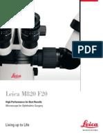 Leica M820 Bro En