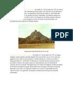 Monumento Natural Piedra Del Cocuy