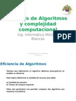 Analisis de Algoritmos y Complejidad Comp.