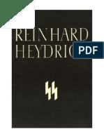 Reinhard Heydrich Special SS Memorial VolumeEnglish With Extended Photos