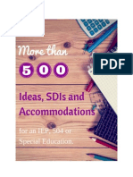 list+of+sdis+and+accommodations+for+ieps