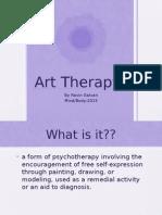 art therapy presentation