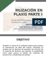 Estabilización en Plaxis Parte I