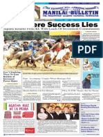 Manila Bulletin 2014 March 2