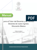 Sreba Manual Para El Tutor