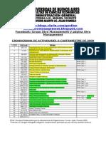 CronogramadelcursoSegundoCuatrimestre2009