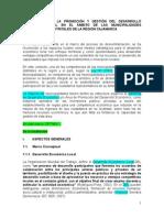 Propuesta Para La Promoción Del en El Ámbito de Las Municipalidades Provinciales y Distritales de La Región Cajamarca (Marz-2015)