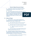 introduction to major research paper