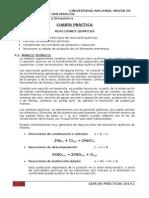 4 Práctica Reacciones Químicas